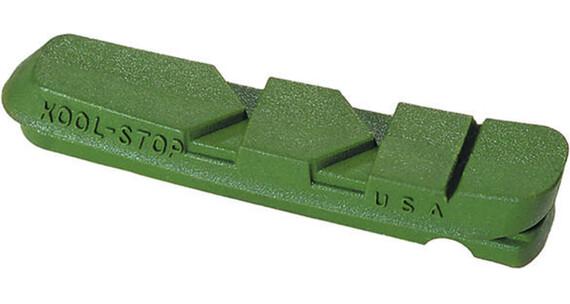 Kool Stop Dura Type Bremsbeläge für Keramikfelgen grün